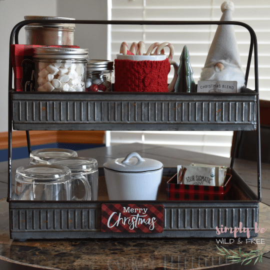 Super Simple Hot Cocoa Bar for Kids