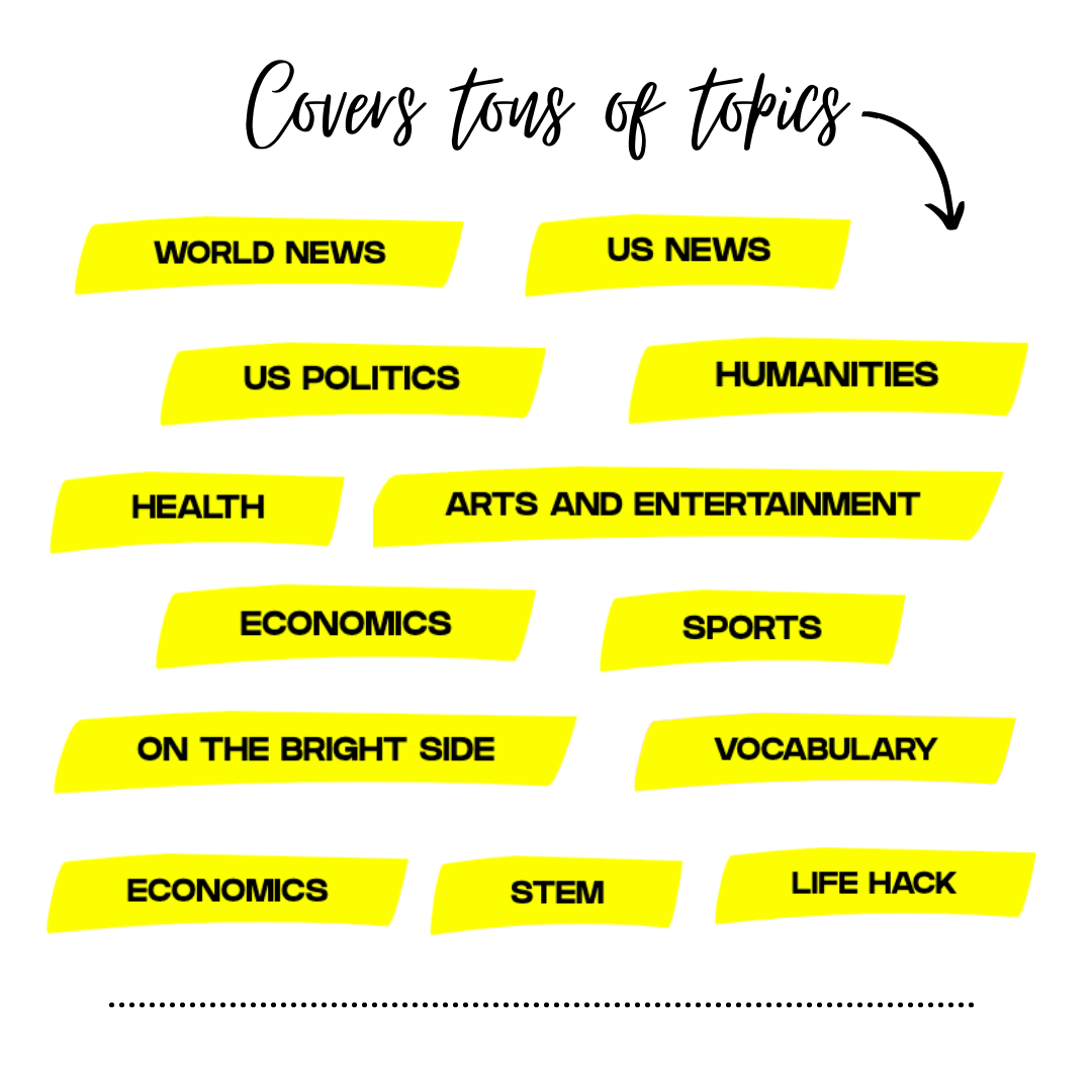 Tons of Current Events for Kids Topics
