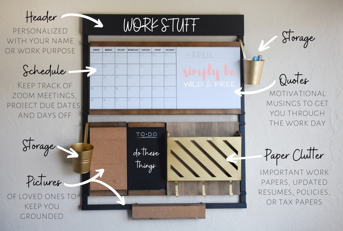 Work From Home Organization