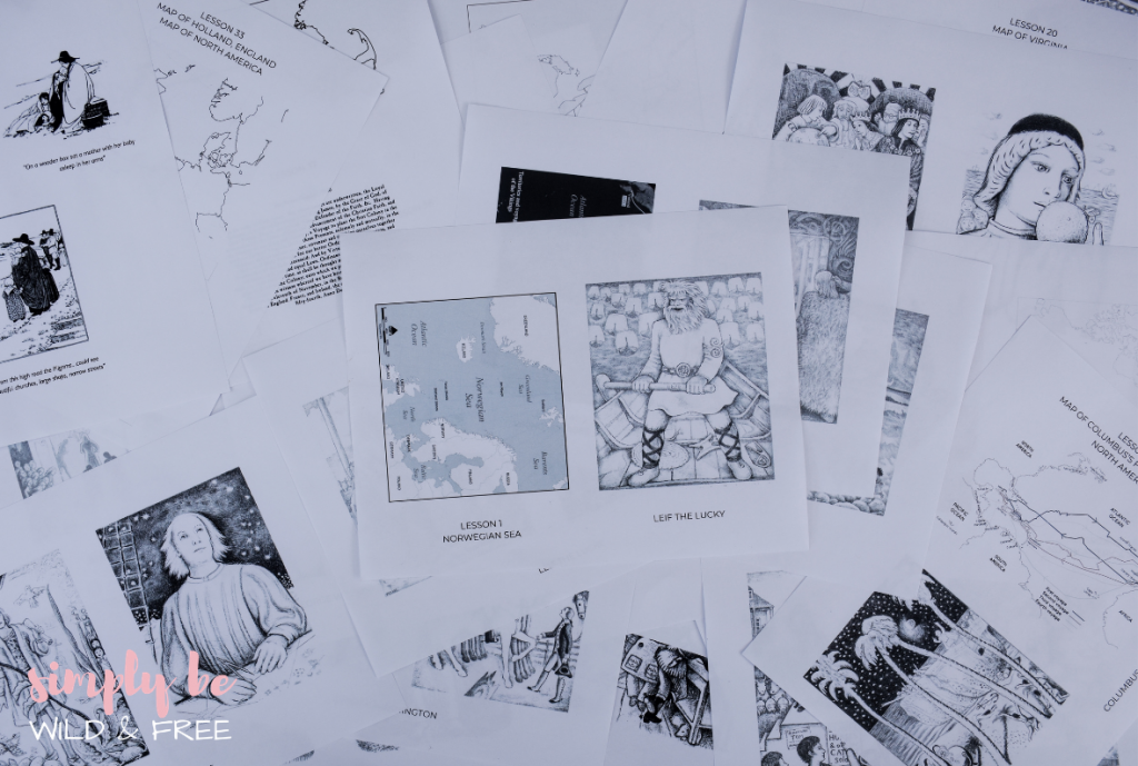 History Curriculum Extras - History Printables for Kids
